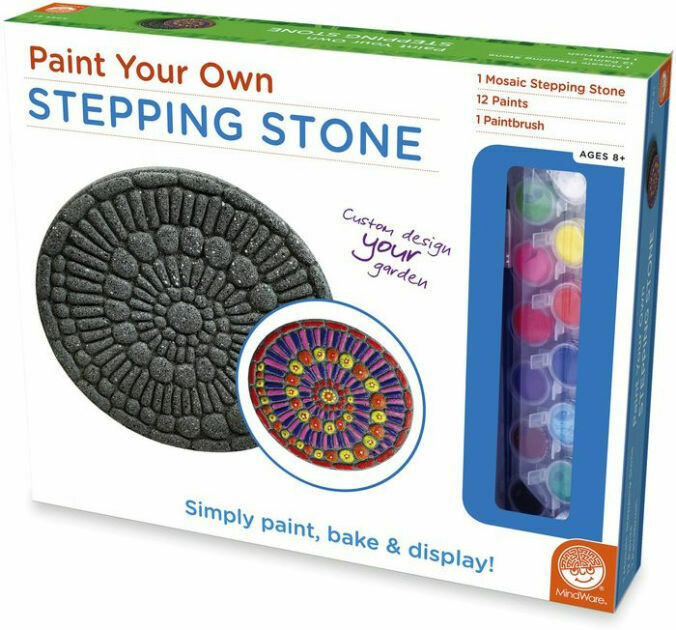Paint Your Own Stepping Stones - Mosaic, Ages 8 and up