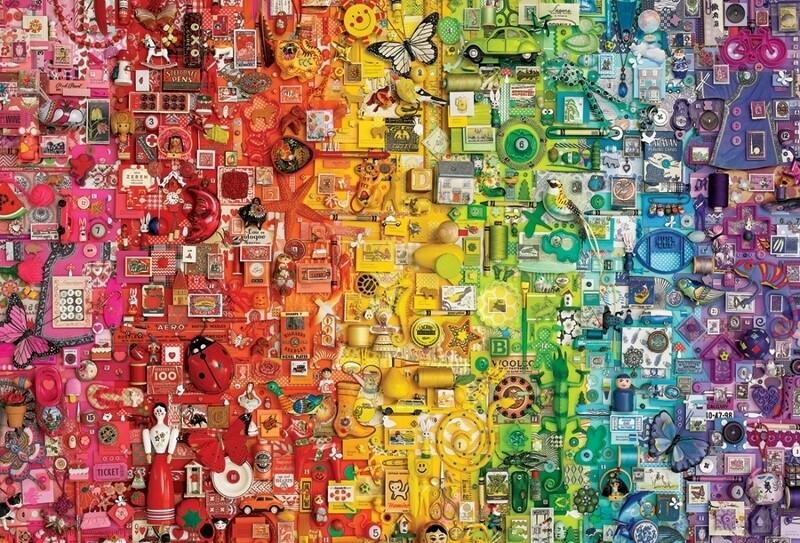 Rainbow - 2000 Piece Cobble Hill Puzzle