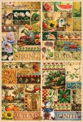 The Four Seasons - 2000 Piece Cobble Hill Puzzle