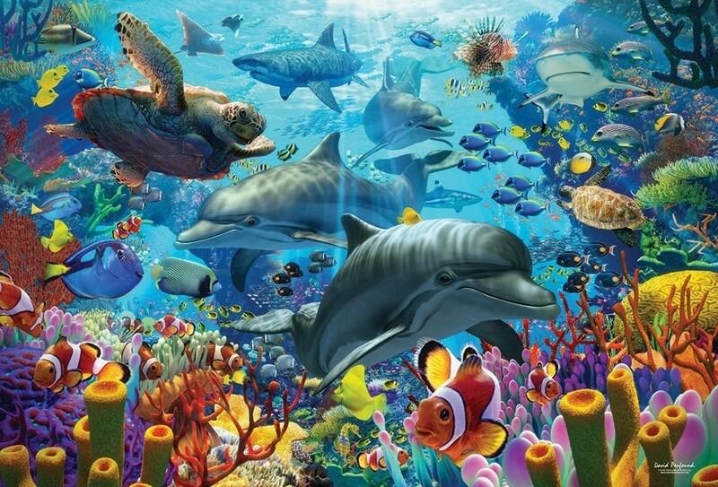 Coral Sea - 2000 Piece Cobble Hill Puzzle