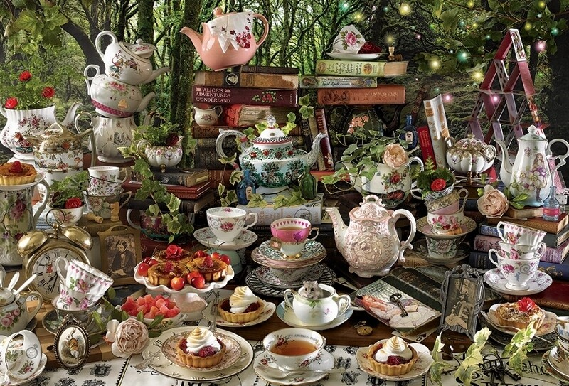Mad Hatter's Tea Party - 2000 Piece Cobble Hill Puzzle