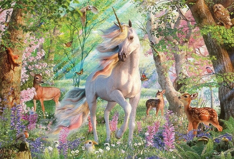 Unicorn and Friends - 2000 Piece Cobble Hill Puzzle
