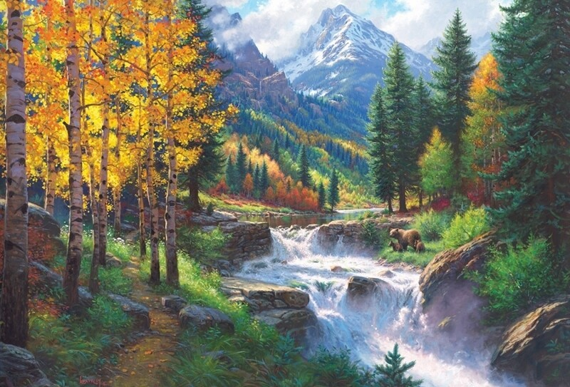 Rocky Mountain High - 2000 Piece Cobble Hill Puzzle