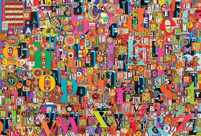 Shelly's ABC - 2000 Piece Cobble Hill Puzzle