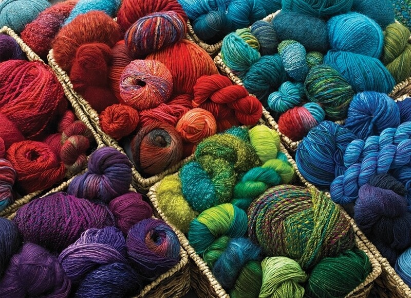 Plenty Of Yarn - 1000 Piece Cobble Hill Puzzle