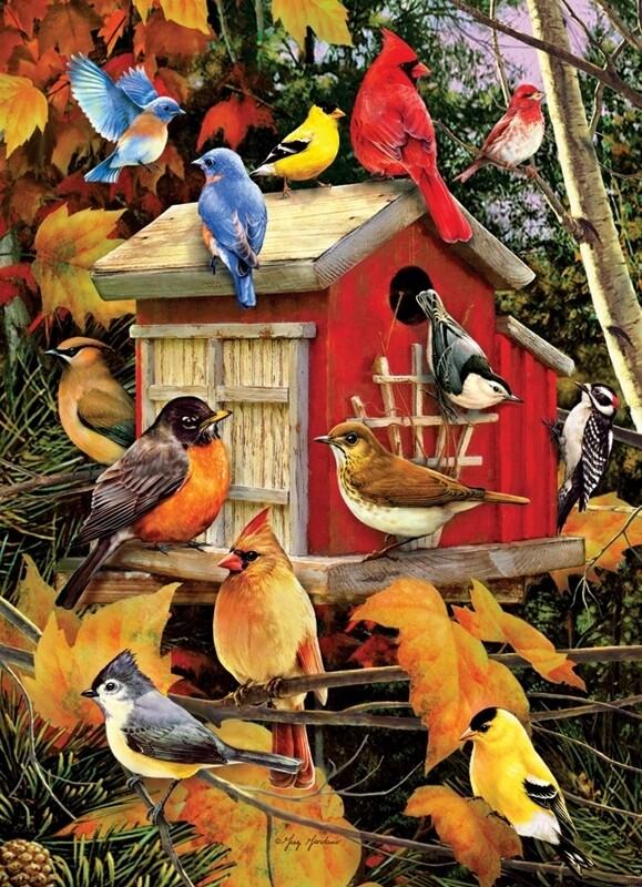 Fall Birds - 1000 Piece Cobble Hill Puzzle