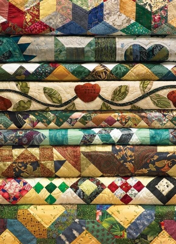 Grandma's Quilts - 1000 Piece Cobble Hill Puzzle