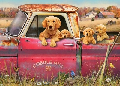 Cobble Hill Farm - 1000 Piece Cobble Hill Puzzle