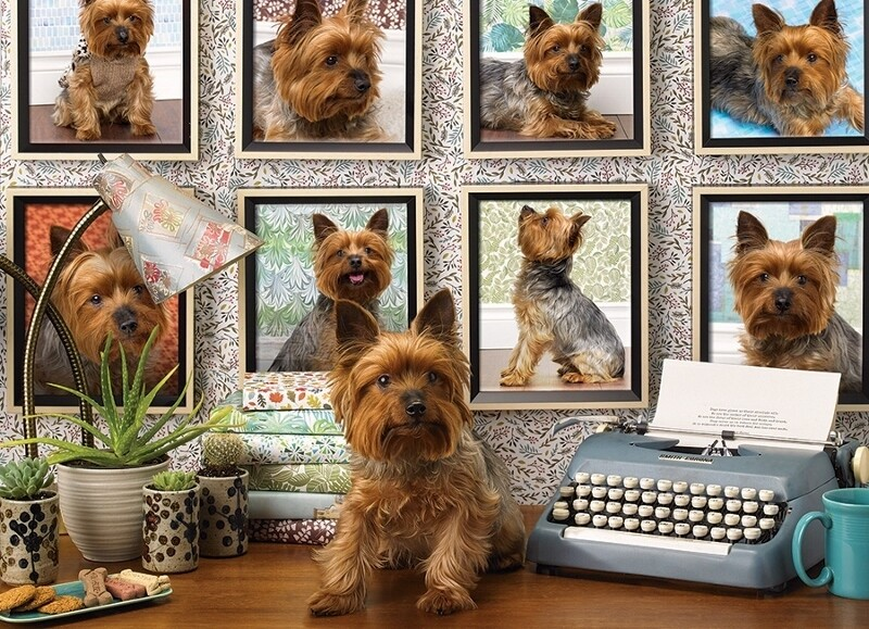 Yorkies are My Type - 1000 Piece Cobble Hill Puzzle