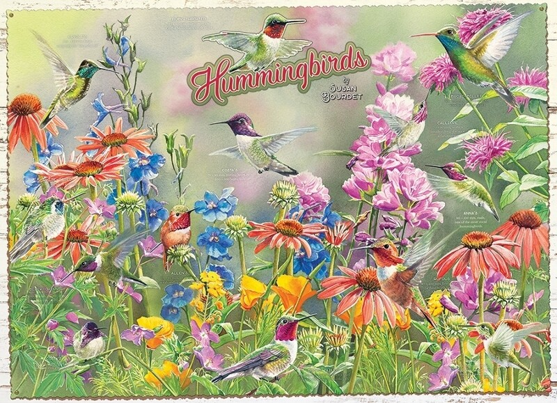 Hummingbirds - 1000 Piece Cobble Hill Puzzle