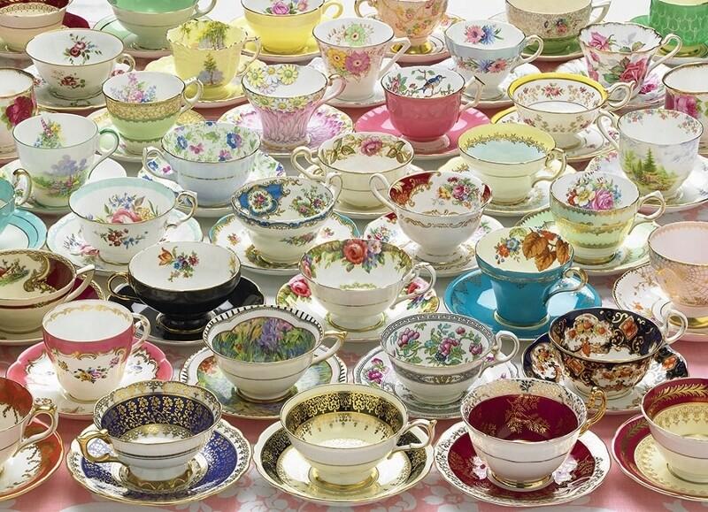 More Teacups - 1000 Piece Cobble Hill Puzzle
