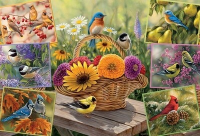 Rosemary's Birds - 2000 Piece Cobble Hill Puzzle