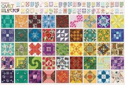 Quilt Blocks - 2000 Piece Cobble Hill Puzzle