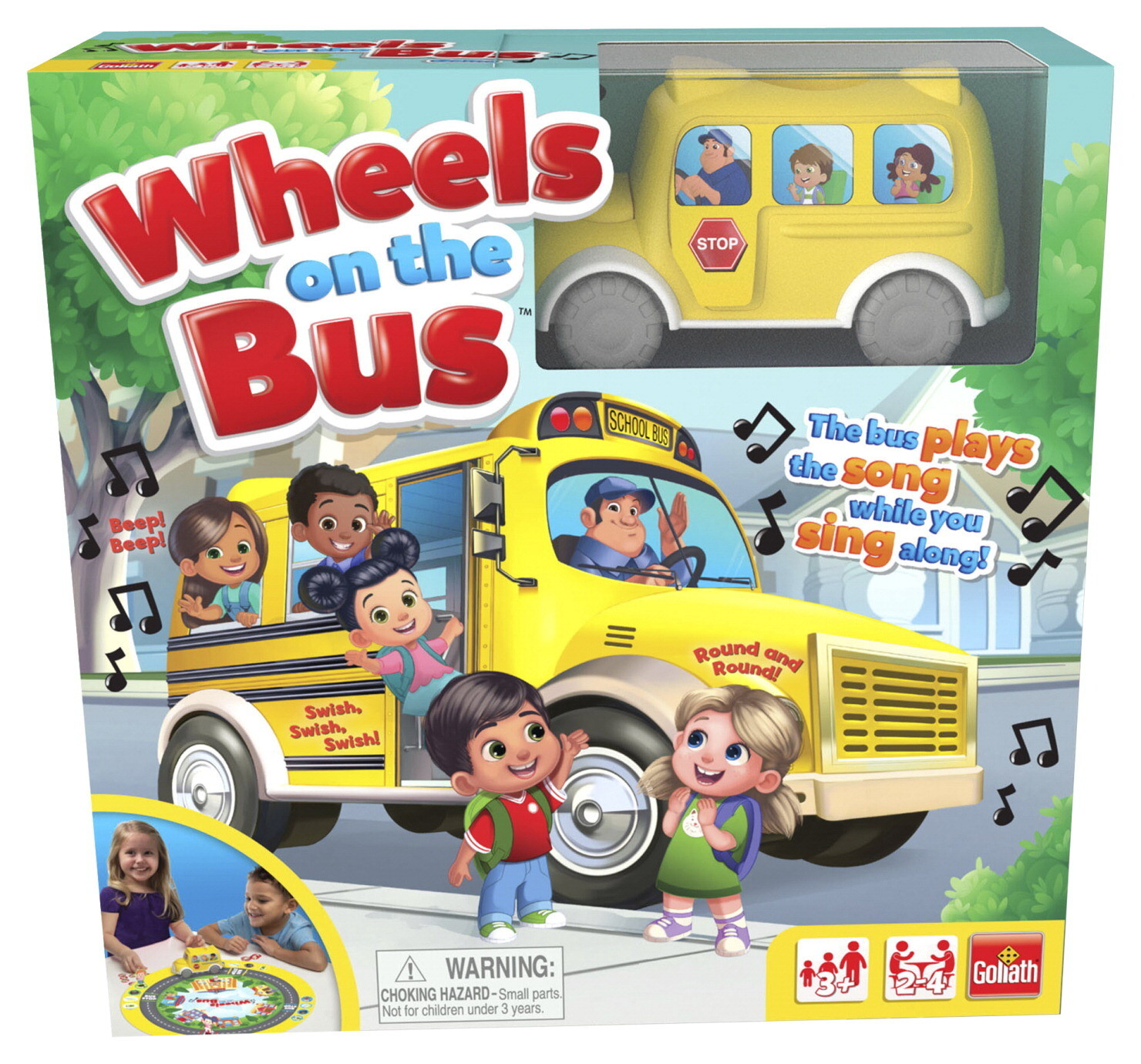 Wheels on the Bus - Kids Board Game