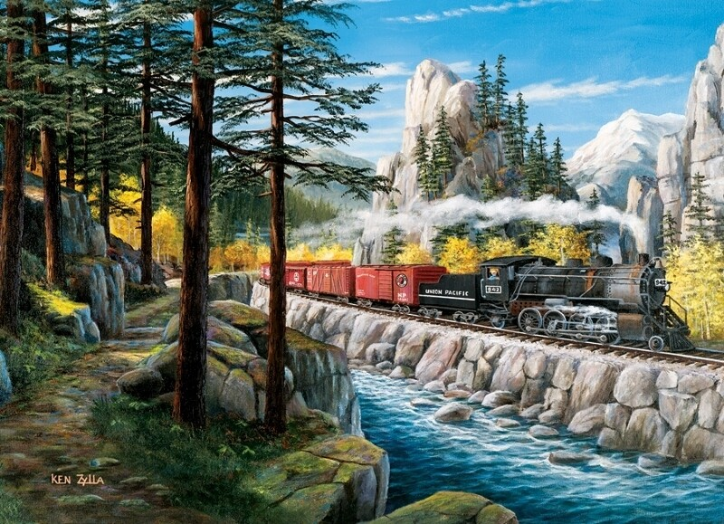 Rounding The Horn - 1000 Piece Cobble Hill Puzzle