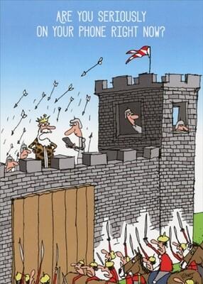 Birthday - Castle Under Attack