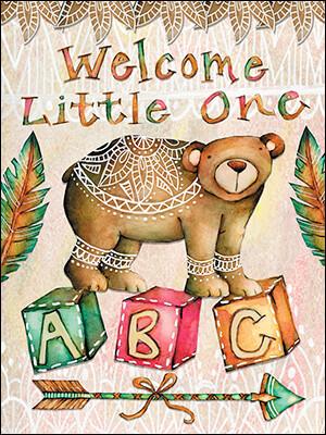 Baby - Bear on ABC Blocks