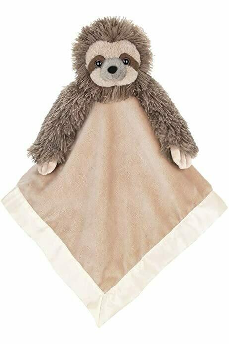 Lil' Speedy Snuggler - Sloth - 15 inch - Bearington Baby