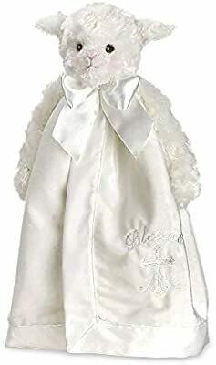 Lamb Blessings Snuggler - 15 inch - Bearington Baby