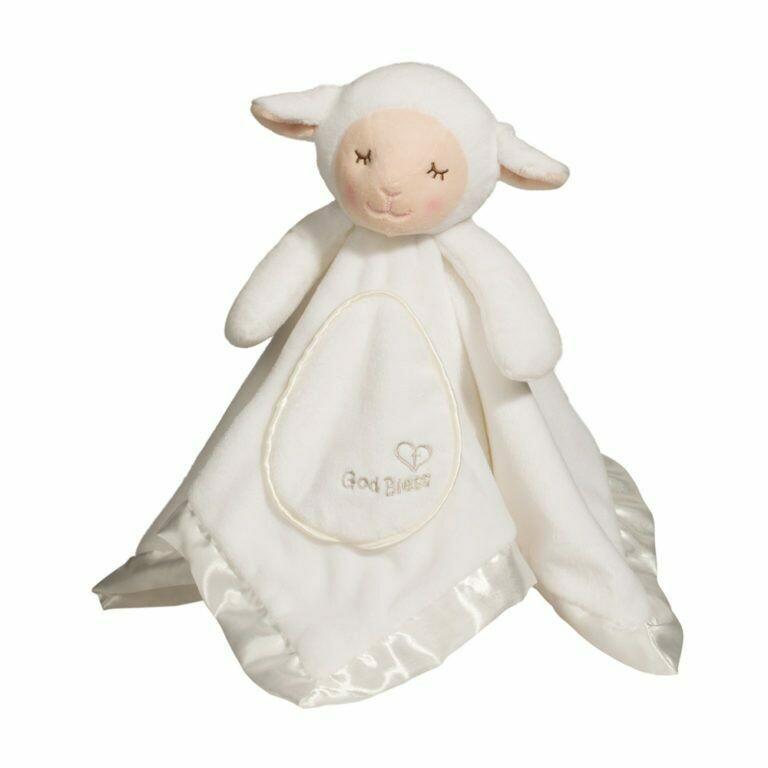 God Bless Lamb - Lil' Snuggler - 12 inch - Douglas Baby