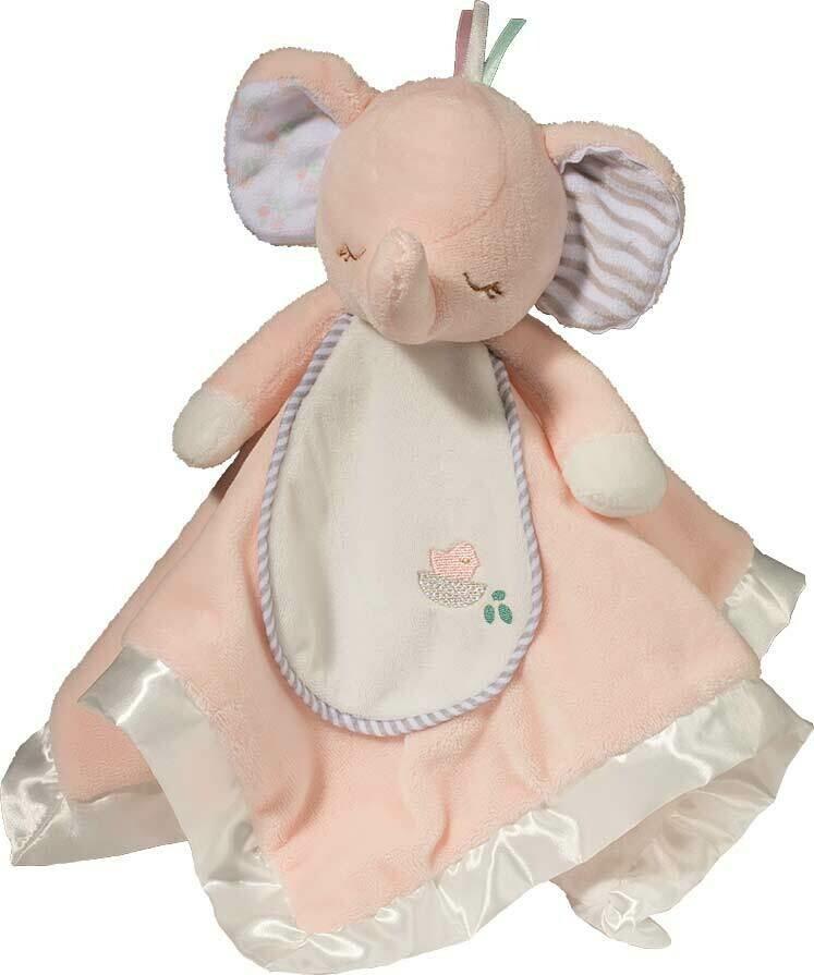 Pink Elephant - Lil' Snuggler - 12 inch - Douglas Baby