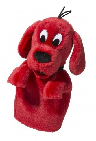 Clifford The Big Red Dog - Hand Puppet - 12 inches