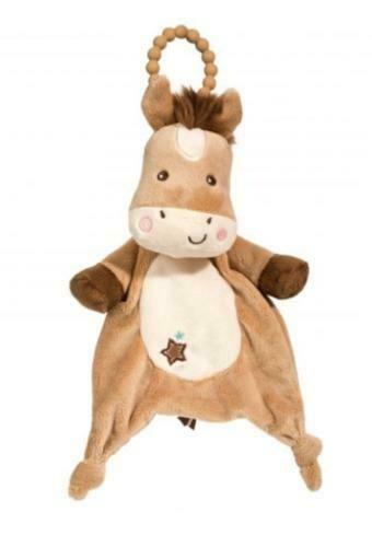 Horse Star Pony - Teether Blanket - Lil' Sshlumpie - 13 inch - Douglas Baby