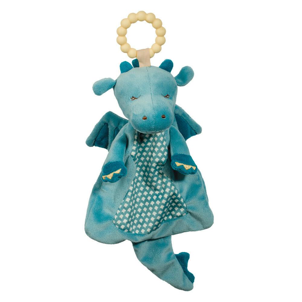Dragon - Teether Blanket - Lil' Sshlumpie - 13 inch - Douglas Baby