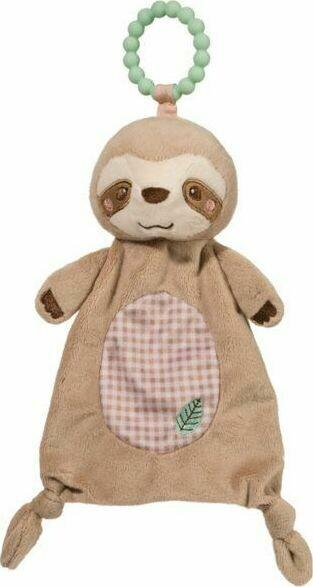 Sloth - Teether Blanket - Lil' Sshlumpie - 13 inch - Douglas Baby