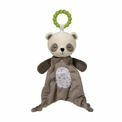 Panda - Teether Blanket - Lil' Sshlumpie - 13 inch - Douglas Baby