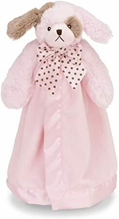 Wiggles Snuggler - Pink Puppy - 15 inch - Bearington Baby
