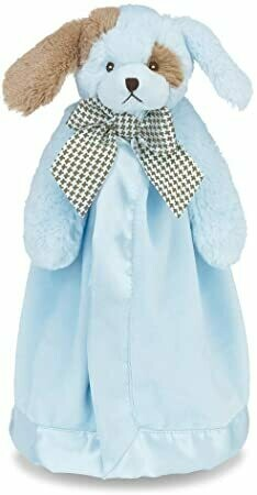 Waggles Snuggler - Blue Dog - 15 inch - Bearington Baby