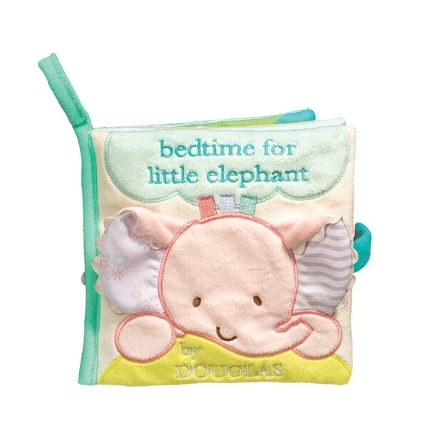 Cloth Activity Book - Bedtime for Little Elephant