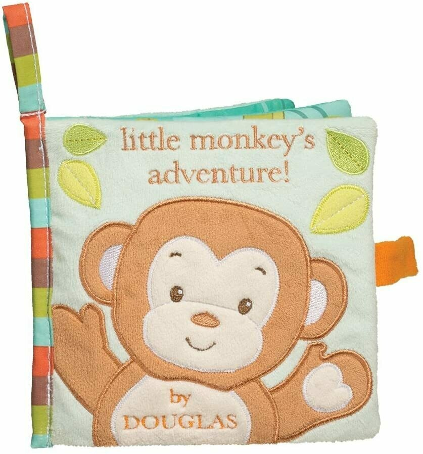Cloth Activity Book - Little Monkey's Adventure