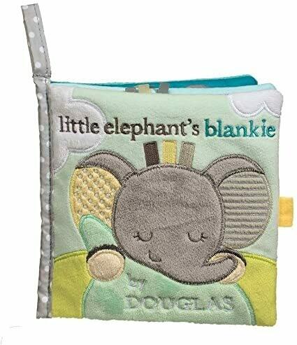 Cloth Activity Book - Little Elephant's Blankie