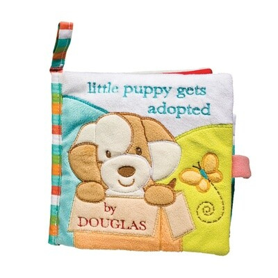 Cloth Activity Book - Little Puppy Gets Adopted