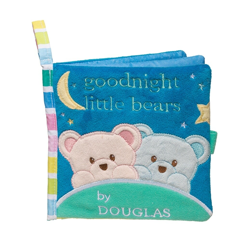 Cloth Activity Book - Goodnight Little Bears