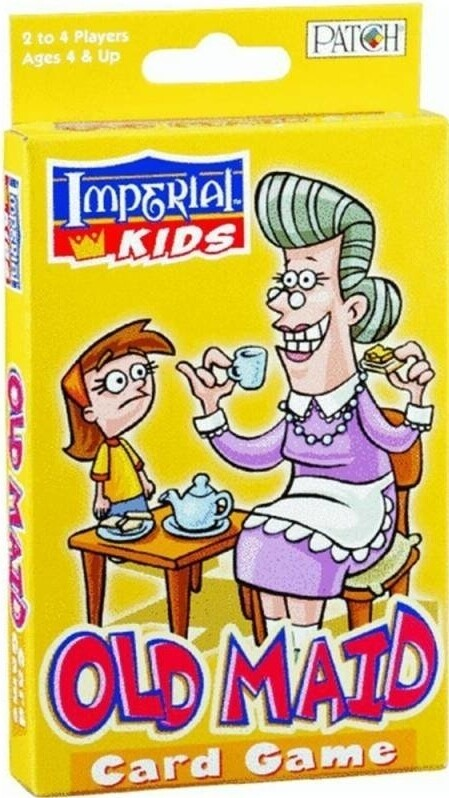 Old Maid - card game, Ages 4 and up