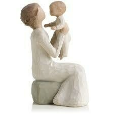 Grandmother - seated holding child