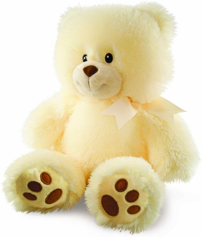 Cuddles the Cub - Cream Bear - Lights up and Plays Music - Soft for Baby