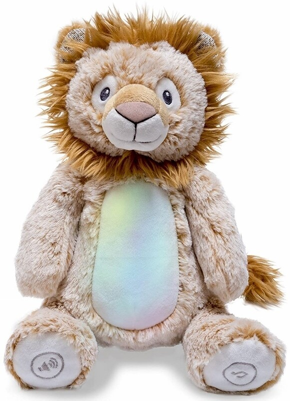 Peaceful Lion - Lights up and Plays Jungle Music - Soft for Baby