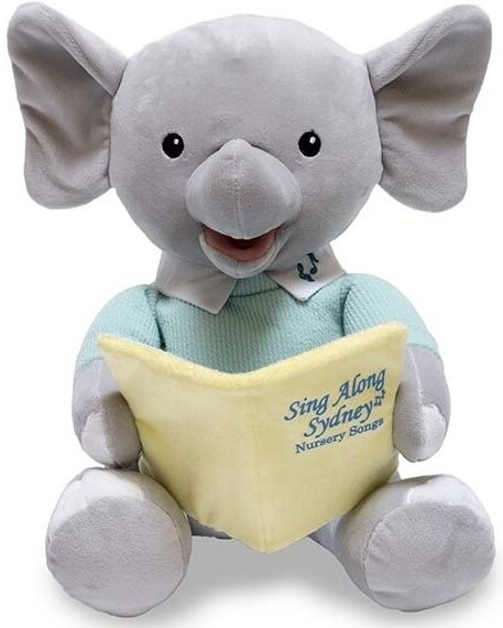 Sing Along Sydney the Elephant - Sings Nursery Songs  and Moves