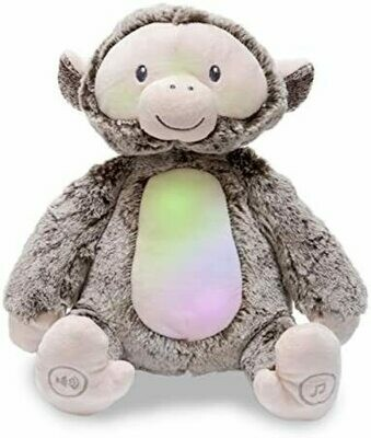 Peaceful Monkey - Lights up and Plays Jungle Music - Soft for Baby