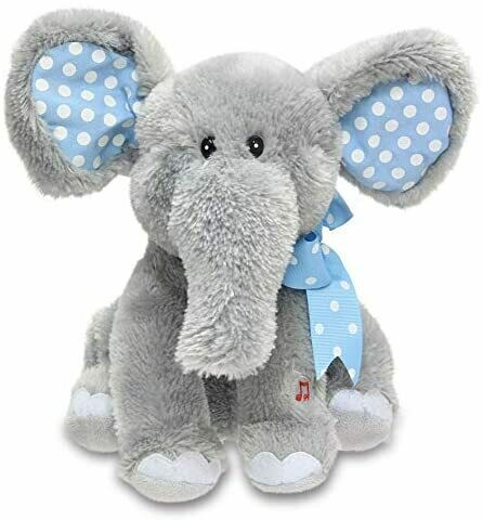 """Elliot - Grey Elephant - Sings """"Do Your Ears Hang Low"""" and Moves"""