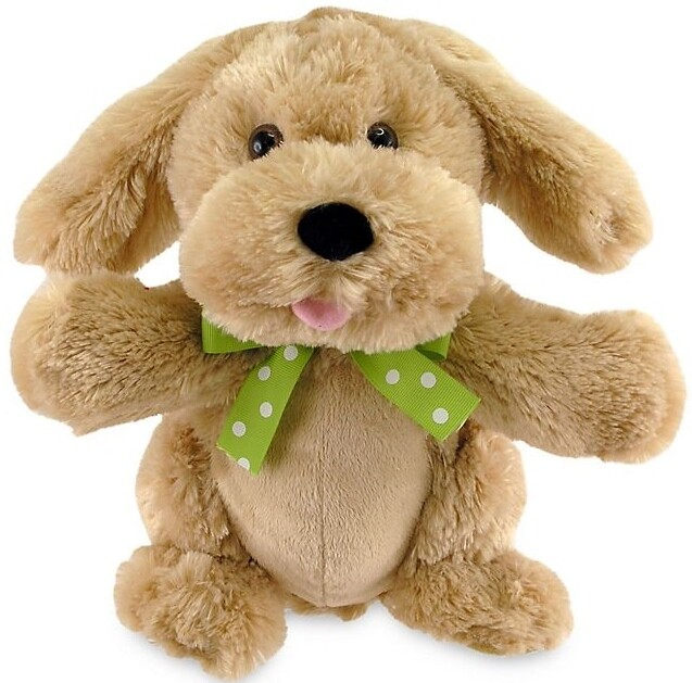 """My Little Puppy - Goldy Brown Dog - Sings """"If You're Happy and You Know It"""" and Moves"""