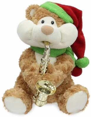 Christmas Cheeks - plays the sax and sings - Have yourself a Merry Little Christmas