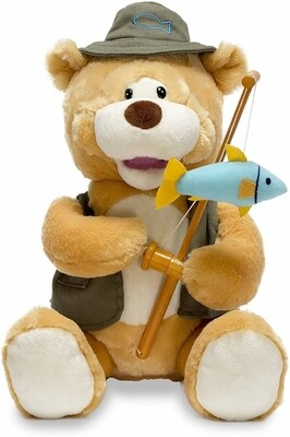 Gone Fishin' Flynn - Bear with Fishing Pole - Sings
