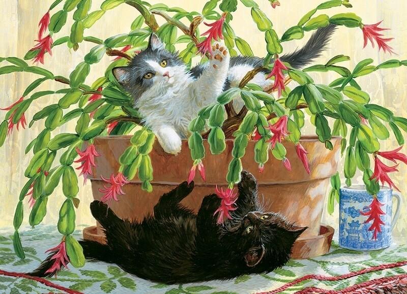 Cactus Kitties - 1000 Piece Cobble Hill Puzzle