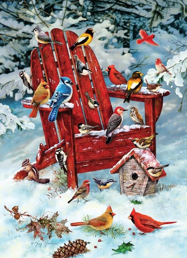 Adirondack Birds - 1000 Piece Cobble Hill Puzzle