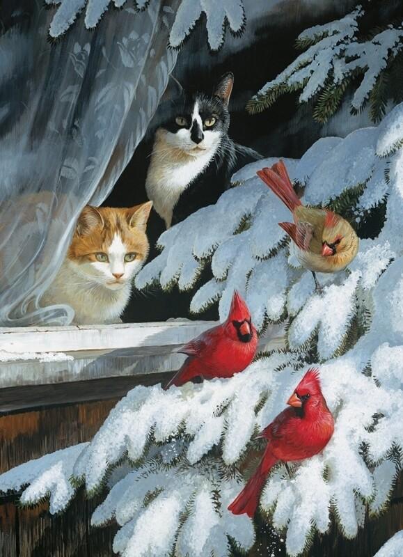 Bird Watchers - 1000 Piece Cobble Hill Puzzle